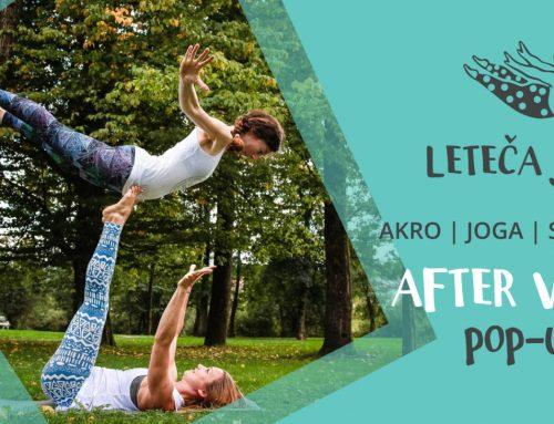 Afterwork pop-up druženja z Letečo jogo