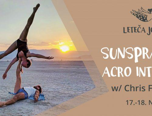 Sunsprayed Acro Intensive w/ Christopher Filkins